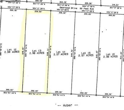 Sewanee Residential Lots & Land For Sale: 13 Deerwood Drive