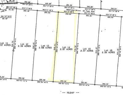 Sewanee Residential Lots & Land For Sale: 14 Deerwood Drive