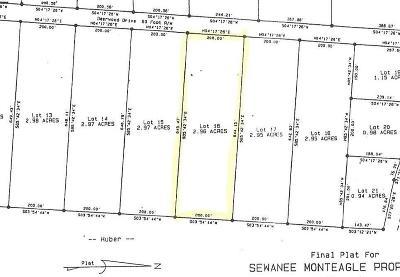 Sewanee Residential Lots & Land For Sale: 16 Deerwood Dr