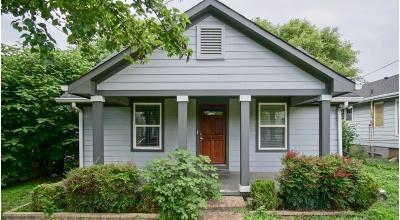 Nashville Single Family Home Under Contract - Showing: 5502 Tennessee Ave