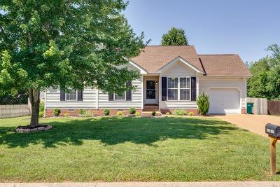 Thompsons Station  Single Family Home Under Contract - Showing: 2802 Kaye Dr