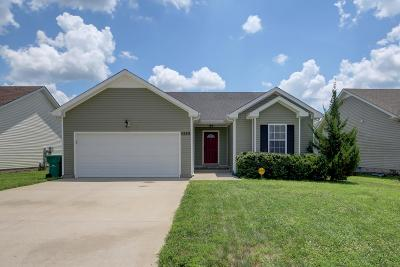 Single Family Home Under Contract - Showing: 532 Fox Trot Dr