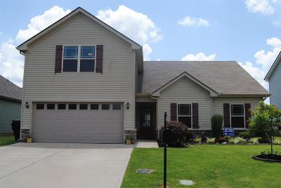 Murfreesboro TN Single Family Home Under Contract - Not Showing: $249,900