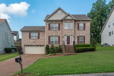 Goodlettsville Single Family Home For Sale: 110 Marshall Greene Cir