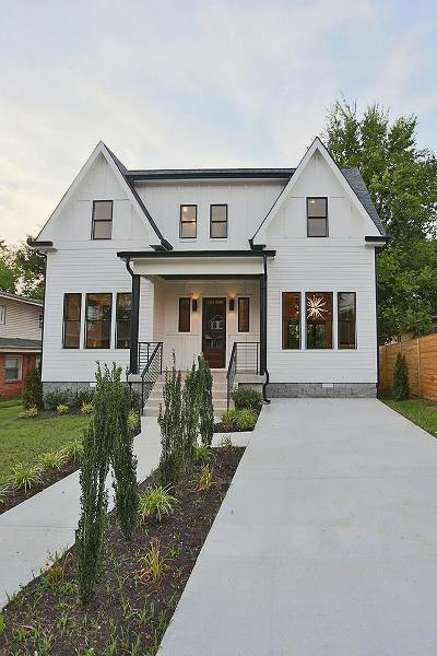 Nashville Single Family Home Under Contract - Not Showing: 1806 Heiman