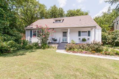 Single Family Home For Sale: 1846 Primrose Avenue