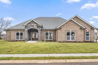 Clarksville Single Family Home Under Contract - Showing: 43 Hartley Hills