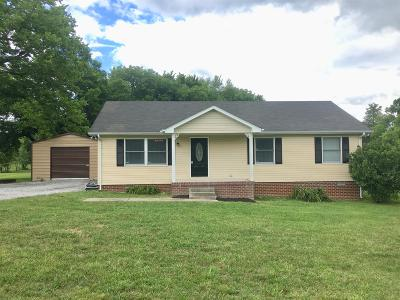 Lebanon Single Family Home Under Contract - Showing: 8153 Carthage Hwy