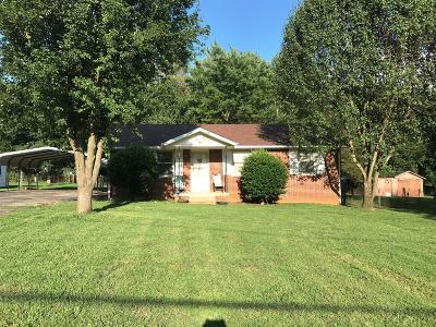 Lavergne Single Family Home Under Contract - Showing: 408 Jean Dr