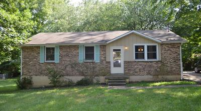 Clarksville Single Family Home For Sale: 636 Woodhaven Court