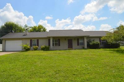 Christian County Single Family Home Under Contract - Not Showing: 1190 Patton Place