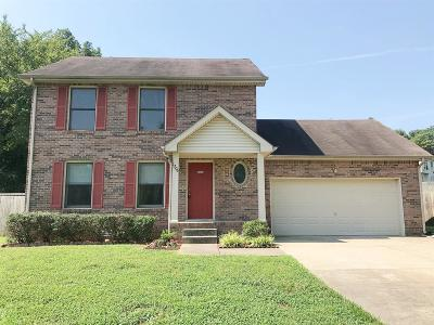 Clarksville Single Family Home For Sale: 1706 Hazelwood Rd