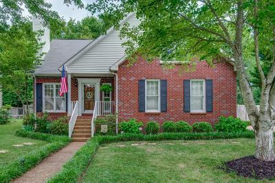 Nashville Single Family Home Under Contract - Showing: 7753 Poplar Ridge Dr