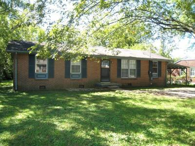 Franklin Single Family Home Under Contract - Showing: 223 Walnut Drive