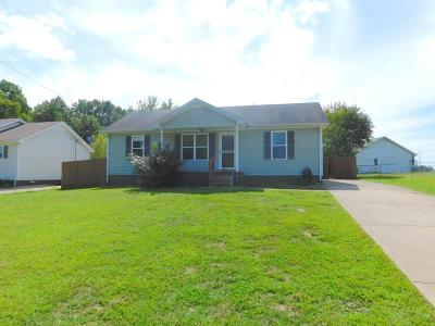 Oak Grove Single Family Home Under Contract - Not Showing: 1529 Hugh Hunter Rd