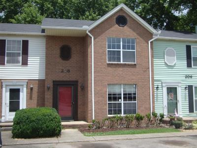 Smyrna, Lascassas Condo/Townhouse Under Contract - Not Showing: 208 Richland Ave #208