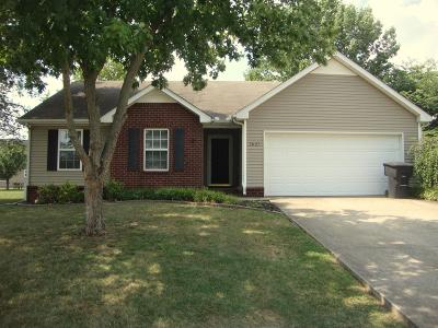Murfreesboro Single Family Home For Sale: 2827 Castlerea Dr