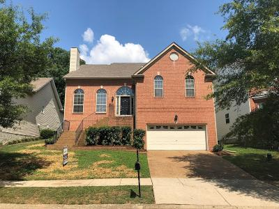 Franklin Single Family Home Under Contract - Showing: 506 Hodges Ct