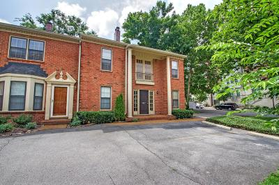 Nashville Condo/Townhouse For Sale: 3227 West End Cir