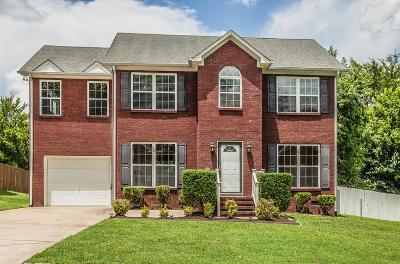 Spring Hill  Single Family Home Under Contract - Showing: 1253 Baker Creek Dr
