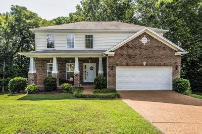 Nolensville Single Family Home For Sale: 107 Wiggins Ct