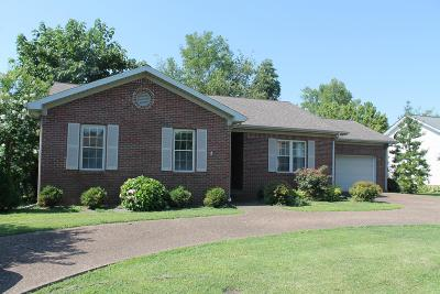 Christian County Single Family Home For Sale: 3625 Stone Valley