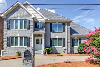 Hendersonville Single Family Home Under Contract - Showing: 113 Breakwater N