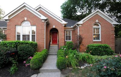 Nashville Single Family Home For Sale: 103 Cantrell Sq
