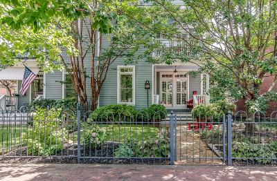 Nashville Single Family Home For Sale: 1210 5th Ave N