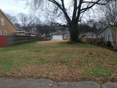 Nashville Residential Lots & Land For Sale: 3907 Park Ave
