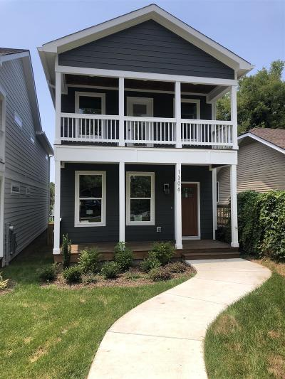 Nashville Single Family Home Under Contract - Showing: 1306 B Pennock Ave