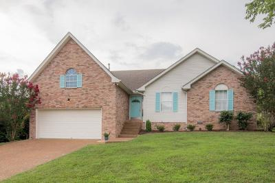 Mount Juliet Single Family Home Under Contract - Not Showing