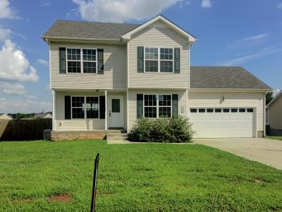 Clarksville TN Single Family Home Under Contract - Not Showing: $157,000