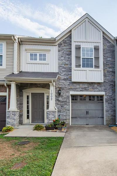 Old Hickory Condo/Townhouse For Sale: 1002 Chatsworth Dr #1002