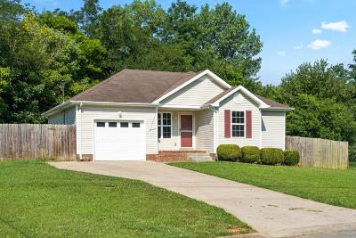 Clarksville Single Family Home Under Contract - Showing: 585 Somerset Ln