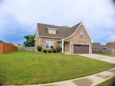 Clarksville Single Family Home For Sale: 726 Valencia Dr