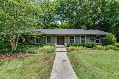 Davidson County Single Family Home For Sale: 5804 Vine Ridge Dr