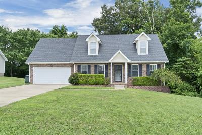 Clarksville Single Family Home Under Contract - Showing: 826 Buckhorn Dr
