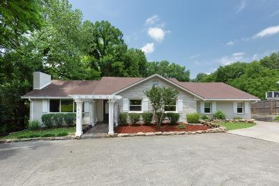 Davidson County Single Family Home For Sale: 912 Woodmont Blvd