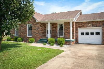 Clarksville Single Family Home Under Contract - Showing: 904 Cimarron Ct