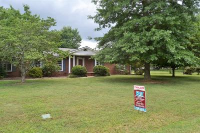 Rutherford County Single Family Home Under Contract - Showing: 2810 Amber Dr