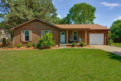 Clarksville Single Family Home Under Contract - Not Showing: 923 Dominion Dr