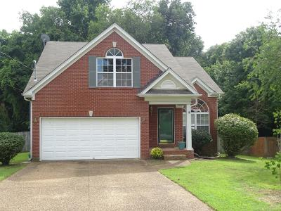 Mount Juliet Single Family Home Under Contract - Showing: 1418 Hilltop Dr
