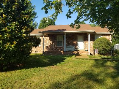 Kingston Springs Single Family Home Under Contract - Showing: 698 Pinnacle Hill Rd