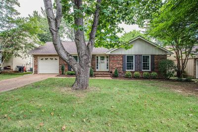 Franklin Single Family Home Under Contract - Showing: 1903 Redbud Ct