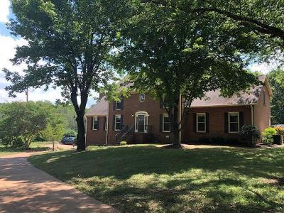 Davidson County Single Family Home For Sale: 5587 South New Hope Rd.