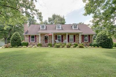 Rutherford County Single Family Home Under Contract - Not Showing: 110 Young Dr