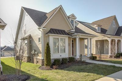 Thompson's Station, Thompsons Station Single Family Home For Sale: 2784 Americus Dr