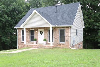 Clarksville Single Family Home Under Contract - Showing: 2263 Ermine Dr