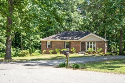 Clarksville Single Family Home For Sale: 131 Ledbetter Lane